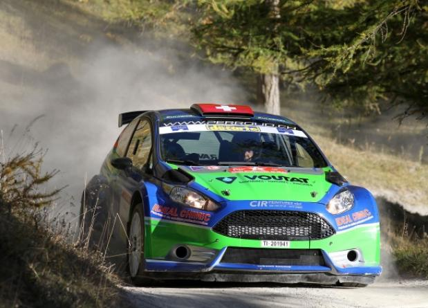 AT THE START THE SEASON WITH PASCAL PERROUD ON FORD FIESTA R5