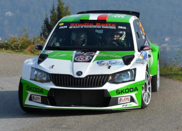 "JACOPO CIVELLI ON THE SKODA FABIA R5 BETWEEN THE PROTAGONISTS OF THE ""42° RALLY IL CIOCCO E VALLE DEL SERCHIO"""