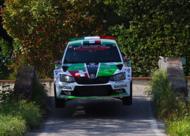 "A BIG LUCA ARTINO AT THE ""34° RALLY VALDINIEVOLE"""