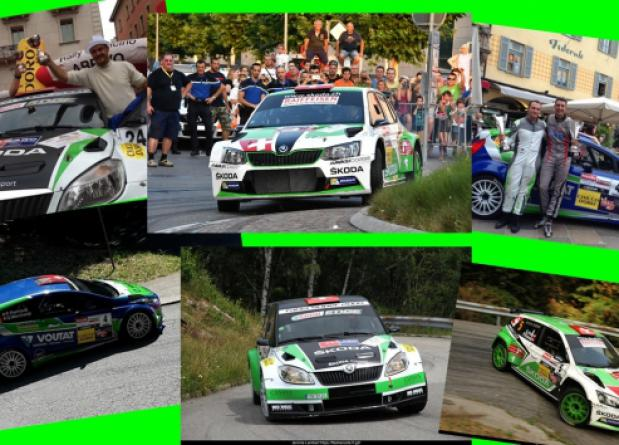 """AT THE """"RALLY RONDE TICINO"""" PRIZE FOR ALL THE THREE TEAM CARS"""