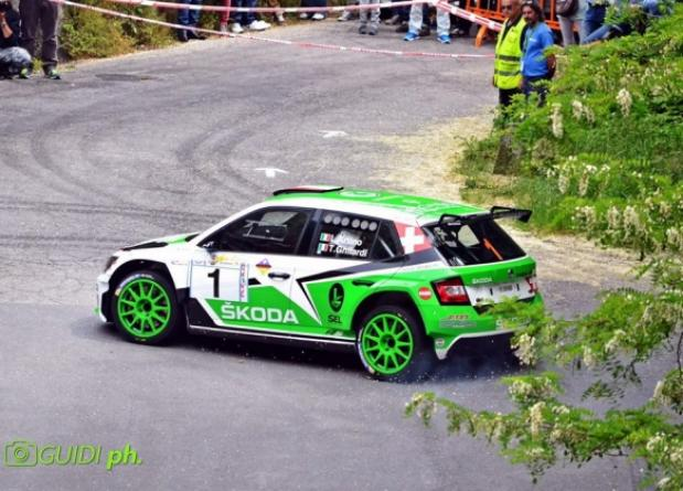 "THE AWAITED RETURN OF LUCA ARTINO AT THE ""37° RALLY CITTA' DI PISTOIA"""