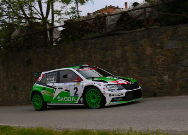 "RE-START WITH LUCA ARTINO AT ""36° RALLY DEGLI ABETI E DELL'ABETONE"""